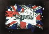 Sex Pistols - 'Anarchy in the UK' Poster Flag